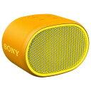 SONY ワイヤレスポータブルスピーカー SRS-XB01(Y) イエロー ソニー Bluetooth対応 【即納】