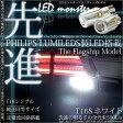 PHILIPS LUMILEDS製LED搭載☆T16 LED MONSTER 500LM ウェッジシングル球 LEDカラー:ホワイト 色温度6500K 1セット2個入  品番:LMN161 【あす楽】
