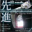 ☆T20S PHILIPS LUMILEDS製LED搭載 LED MONSTER 400LM ウェッジシングル球 LEDカラー:ホワイト 色温度6500K 1セット2個入  品番:LMN103 【あす楽】