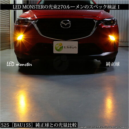 ��¨Ǽ�ۡ�S25S�ԥ�Ѱ㤤S25[BAU15S]PHILIPSLUMILEDS��LED���LEDMONSTER270LM���󥰥����LED���顼������С�1���å�2���������֡�LMN101��h1000�ۡ�RCP��