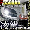 ☆凌駕-RYOGA-L5500 LEDフォグランプキット 明...