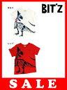 楽天Piudepiu【セール50%OFF】[メール便OK]bit'z(ビッツ)恐竜プリントTシャツ