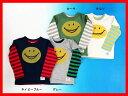 セール35%OFF[メール便送料無料]エフオーキッズ F.O.KIDS 2PスマイルTシャツ