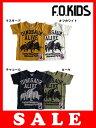 2052円→1000円[メール便OK]エフオーキッズ F.O.KIDS ダイナソーズTシャツ
