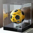 サインボールケース/サッカーボールケース/ディスプレイケース/展示ケース/ 幅30cm/奥行30cm/高さ35cm
