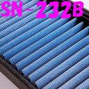 SN-232B eKスペースカスタム B11A BLITZ(ブリッツ)サスパワー エアフィルター 純正交換タイプ