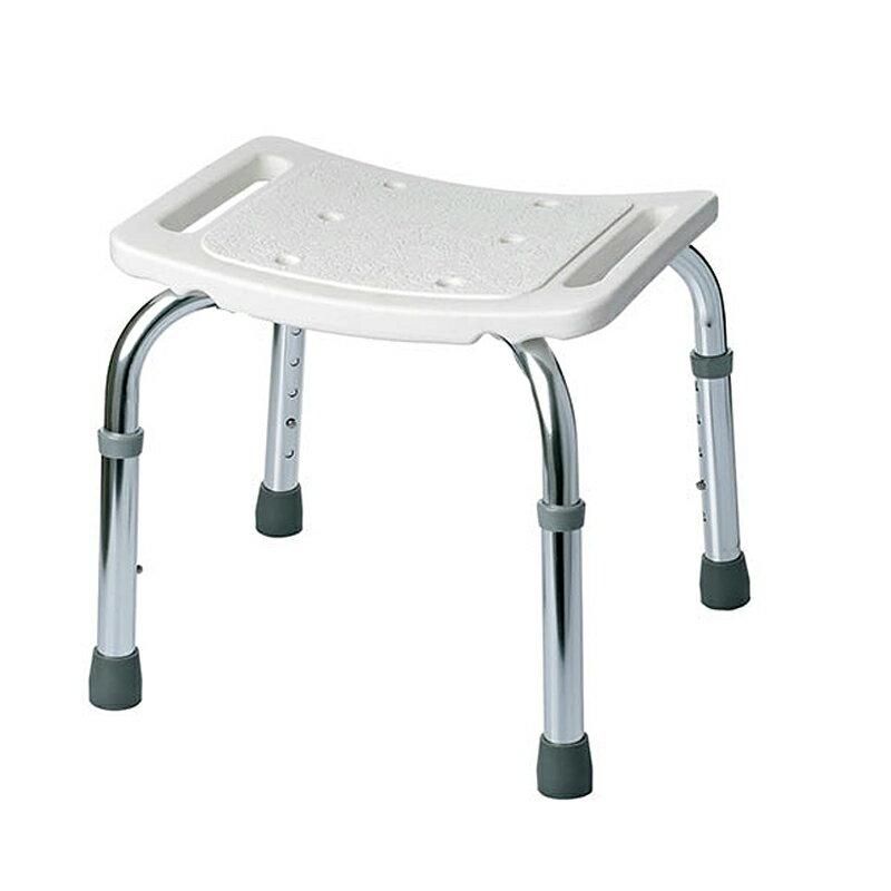 背なしシャワーチェア/高さ5段階調整機能付き/軽量・コンパクト・安心設計/新品介護用品介護補助高齢者