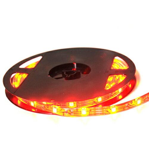 5m150連防水テープLEDライト超大型50503チップSMD/色・レッド/12V最高照度SMD採用