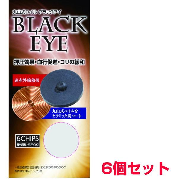 丸山式コイルブラックアイ6個セット(貼付シール3...の商品画像