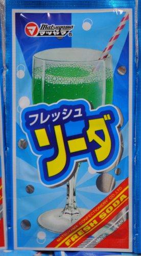 フレッシュソーダ 松山製菓の粉末ジュース【DM便利用可】 10P03Dec16