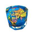 地球儀 世界地図 ペーパーウエイト 文鎮 重石 プレゼント 景品 PW-55 インテリア 小物 おしゃれ 世界まる見え