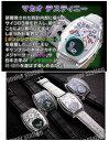 【着用するだけでモテてしまう魔法の時計www】フランク三浦 X マカオディスティニー 五号機(改)FM05DK-BKWHCRBKCRWH白黒マルチ
