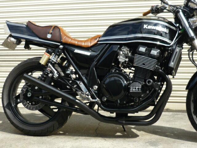 ZRX400/2 〜97 スリム管 42.7π 新品 マフラー ブラック