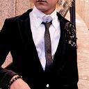 結婚式シャツ・オリジナルラメ細ネクタイ,結婚式スーツ