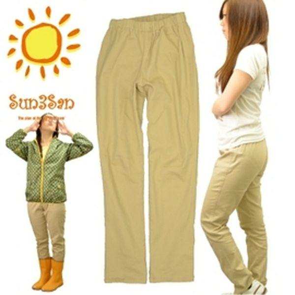 "「Sun3San」(サンサンサン)ストレッチワークパンツ""ノビッチ""/S3S-CS167K/【2016 WEX 年間 作業服 レディース】"