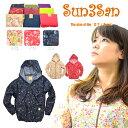 「Sun3San(サンサンサン)」(新)サラダプリントヤッケ/S3S-PY1504/【2016 WEX 年間 ヤッケ レディース】* ウインド ウィンド ブレー...