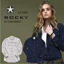 「ROCKY(ロッキー)」レディース・スタンドカラーシャツ/RS4301/【2016 WEX 新作】