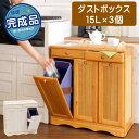 カントリーダストボックス3分別(�