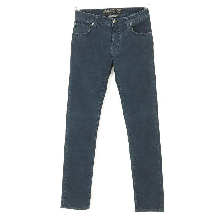 【新品】ヤコブコーエン JACOB COHEN PW622 起毛コットン 5ポケットパンツ スモークネイビー 【30】【G9166】【BLU】【A/W】【送料無料】【即日発送可】【メンズ】【161021PD】