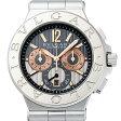 ブルガリ ディアゴノ カリブロ303 DG42C14SWGSDCH メンズ(8KBVU000002)【中古】【腕時計】【送料無料】