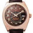 ロレックス スカイドゥエラー 326135BR メンズ(002GROAR0002)【新品】【腕時計】【送料無料】