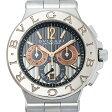 SALE ブルガリ ディアゴノ カリブロ303 DG42C14SWGSDCH メンズ(1HBVU000006)【中古】【腕時計】【送料無料】