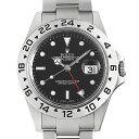 【60回払いまで無金利】ロレックス エクスプローラーII 16570 ブラック D番 メンズ(0063ROAU0903)【中古】【腕時計】【送料無料】