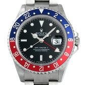 SALE ロレックス GMTマスターII スティックダイアル D番 16710 メンズ(06RXROAU0025)【中古】【腕時計】【送料無料】