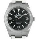 ROLEX(ロレックス) エクスプローラー 214270 ブラック/Black 中古 メンズ