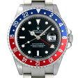 ロレックス GMTマスターII 赤青ベゼル F番 16710 メンズ(085CROAU0001)【中古】【腕時計】【送料無料】