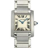 カルティエ タンクフランセーズ SM W51008Q3 レディース(008WCAAU0060)【中古】【腕時計】【送料無料】
