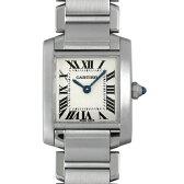 カルティエ タンクフランセーズ SM W51008Q3 レディース(008WCAAU0063)【中古】【腕時計】【送料無料】