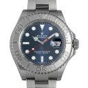 ロレックス ヨットマスター ロレジウム ランダムシリアル 116622 ブルー メンズ(09KQROAS0001)【中古】【未使用】【腕時計】【送料無料】