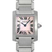 カルティエ タンクフランセーズ SM W51028Q3 レディース(0014CAAU0024)【中古】【腕時計】【送料無料】