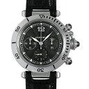 カルティエ パシャ N950 クロノグラフ W3105155 メンズ(007UCAAU0063)【中古】【腕時計】【送料無料】