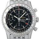 ブライトリング ナビタイマー ワールド A242B26NP(A24322) メンズ(0087BRAU0028)【中古】【腕時計】【送料無料】