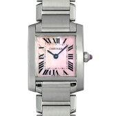 カルティエ タンクフランセーズ SM W51028Q3 レディース(007UCAAU0064)【中古】【腕時計】【送料無料】