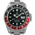 ロレックス GMTマスターII 赤黒ベゼル リアルマッコイズ チャックイエーガー セカンドモデル U番 16710 メンズ(009VROAU0146)【中古】【腕時計】【送料無料】