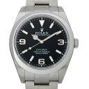 ロレックス エクスプローラー ランダムシリアル 214270 メンズ(006XROAU0436)【中古】【腕時計】【送料無料】