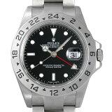 SALE ロレックス エクスプローラーII D番 16570 ブラック メンズ(0063ROAU0139)【中古】【腕時計】【送料無料】