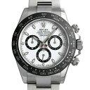 ロレックス コスモグラフ デイトナ 116500LN ホワイト メンズ(0ATRROAU0001)【中古】【腕時計】【送料無料】