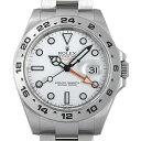 【8月18日10時〜7日間限定 ポイント最大10倍】ロレックス エクスプローラーII ランダムシリアル 216570 ホワイト メンズ(0E9MROAU0001)【中古】【腕時計】【送料無料】
