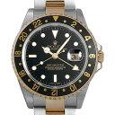 ロレックス GMTマスターII K番 16713 ブラック メンズ0H54ROAU0001