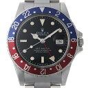 ロレックス GMTマスター 赤青ベゼル 82番 16750 スパイダーダイヤル メンズ006XROAU0624
