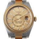 ロレックス スカイドゥエラー 326933 シャンパンゴールド メンズ0CR2ROAN0002