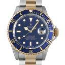 ロレックス サブマリーナ デイト W番 16613 ブルー メンズ0BCCROAU0037