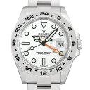 ロレックス エクスプローラーII 216570 ホワイト メンズ(07NDROAN0094)【新品】【腕時計】【送料無料】