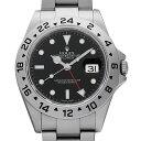 【48回払いまで無金利】ロレックス エクスプローラーII 16570 ブラック Z番 メンズ(0COSROAU0002)【中古】【腕時計】【送料無料】