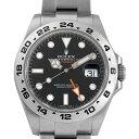 【48回払いまで無金利】ロレックス エクスプローラーII 216570 ブラック ランダムシリアル メンズ(006XROAU1277)【中古】【腕時計】【送料無料】