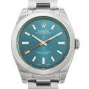 【48回払いまで無金利】ロレックス ミルガウス 116400GV Zブルー メンズ(0H7QROAS0005)【未使用】【腕時計】【送料無料】